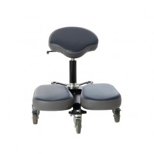 Tabouret en vinyle ergonomique STAG Design Plus