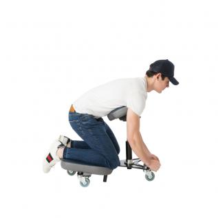 Tabouret ergonomique tête-bêche sur les genoux STAG