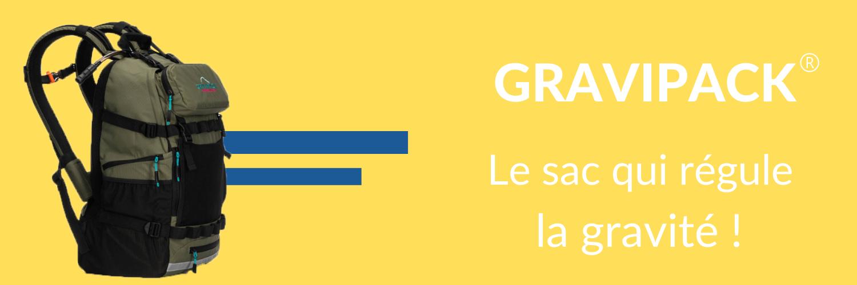 Gravipack : le sac à dos qui régule la gravité