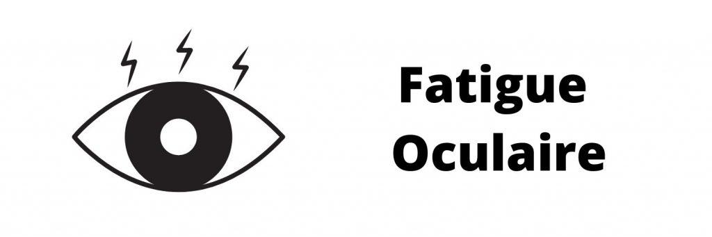 Fatigue oculaire banniere