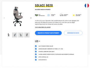 Solace 9020 - Fiche Produit