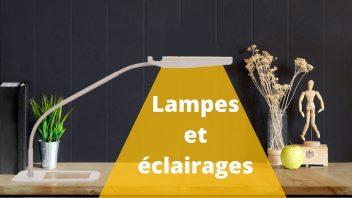 Découvrez nos lampes et éclairages